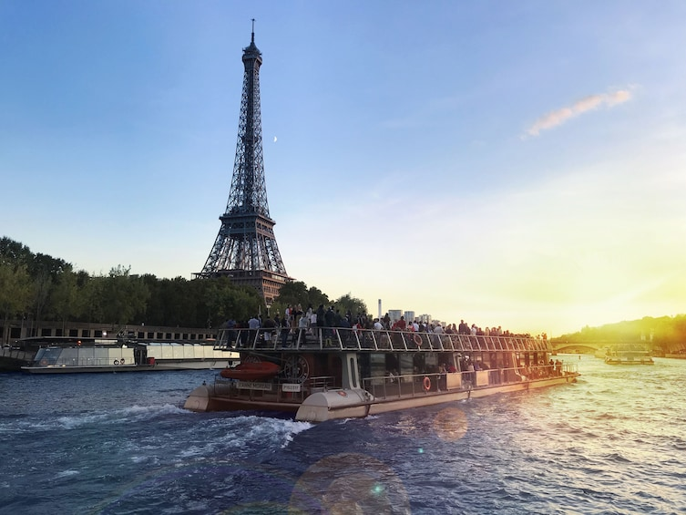Show item 3 of 6. River Seine Sightseeing Cruise