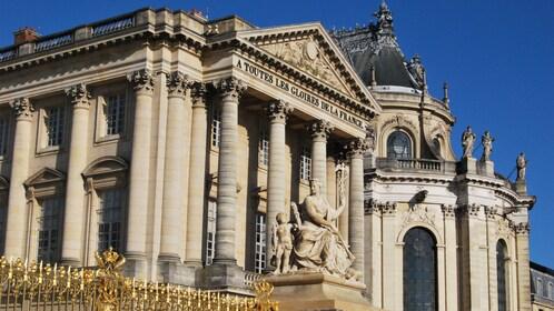 Historic buildings in Paris.