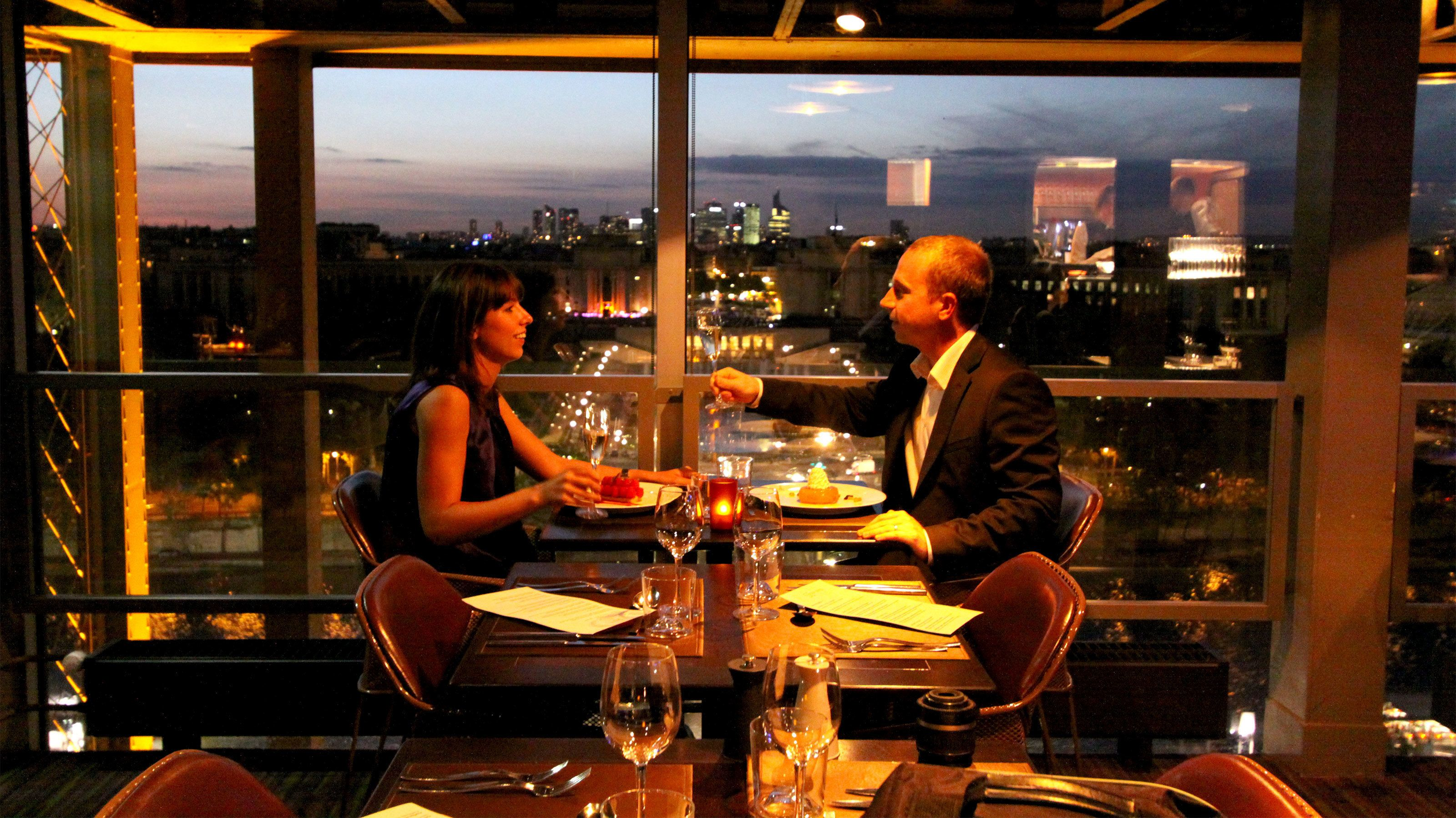 Eiffel Tower Dinner, River Seine Cruise & Moulin Rouge Show