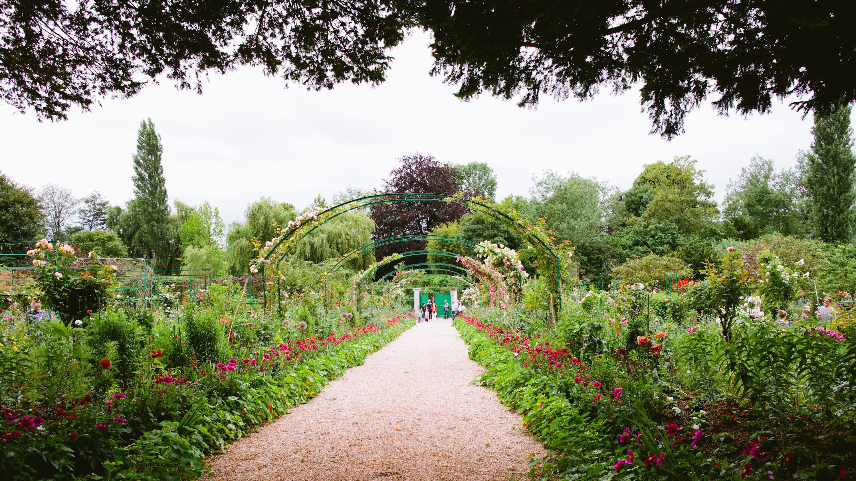 The gardens of Giverny