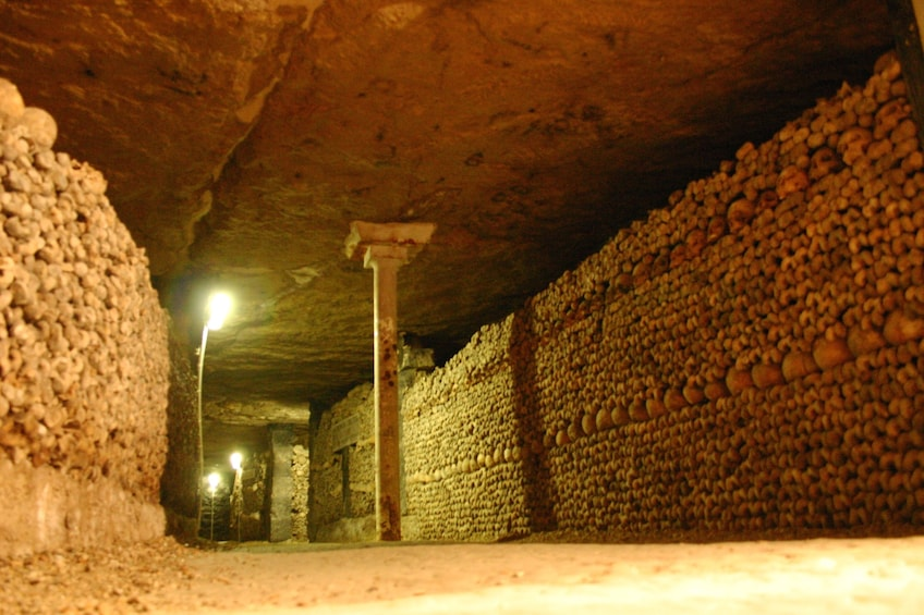 Foto 4 van 10. Skip-the-Line: Paris Catacombs Guided Tour with VIP Access