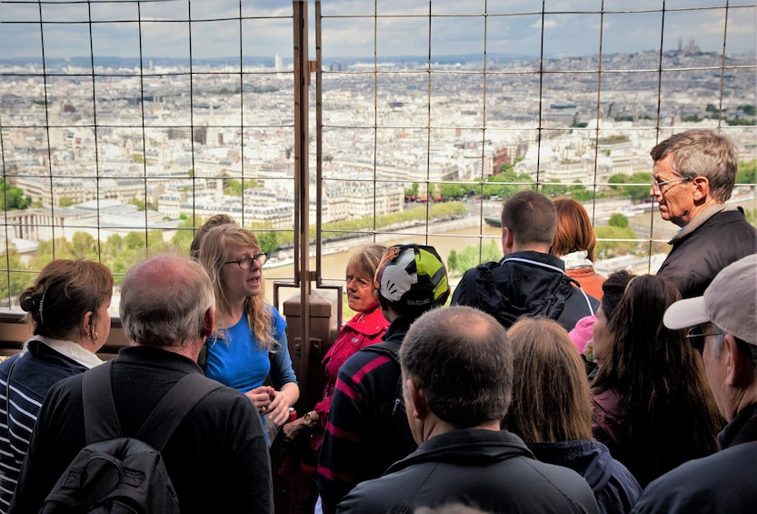 Show item 3 of 10. Eiffel Tower Guided Tour with Optional Summit Tickets