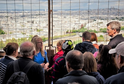 Eiffel Tower Guided Tour with Optional Summit Tickets