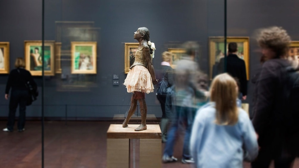 Show item 2 of 5. Little Dancer of Fourteen Years by Degas.