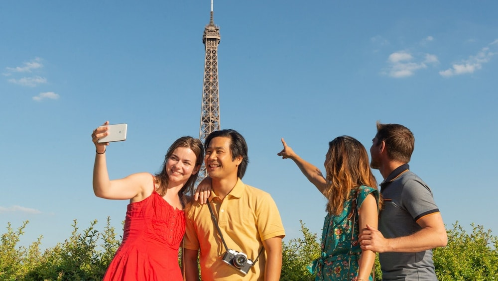 Show item 1 of 10. Half-Day Histopad Bus Tour with Skip-the-Line Eiffel Tower