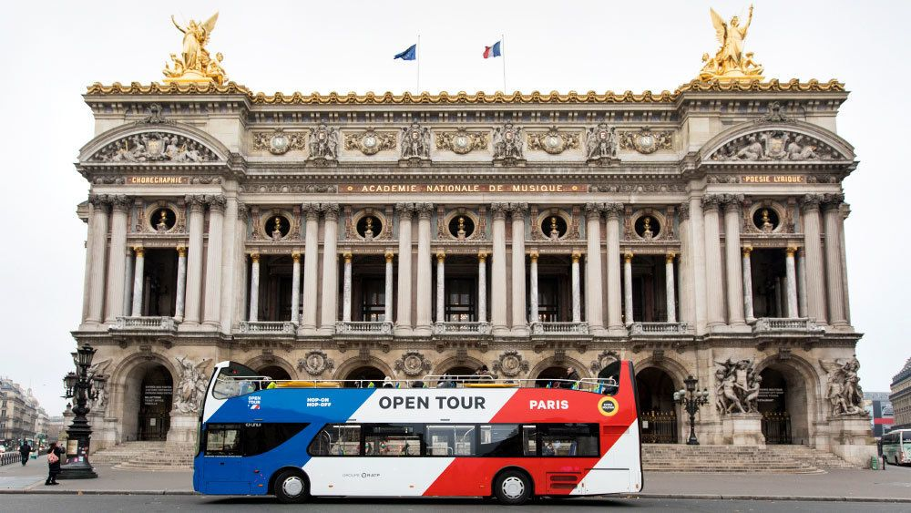 Tour di Parigi a bordo di un autobus hop-on hop-off aperto