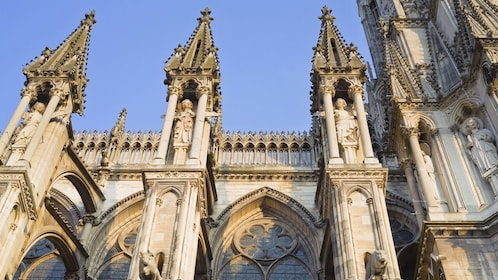 Details of Reims Cathedral.