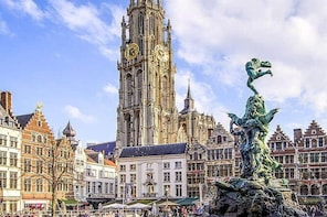 Private tour : Antwerp City of Rubens From Cruise port Zeebrugge or Bruges
