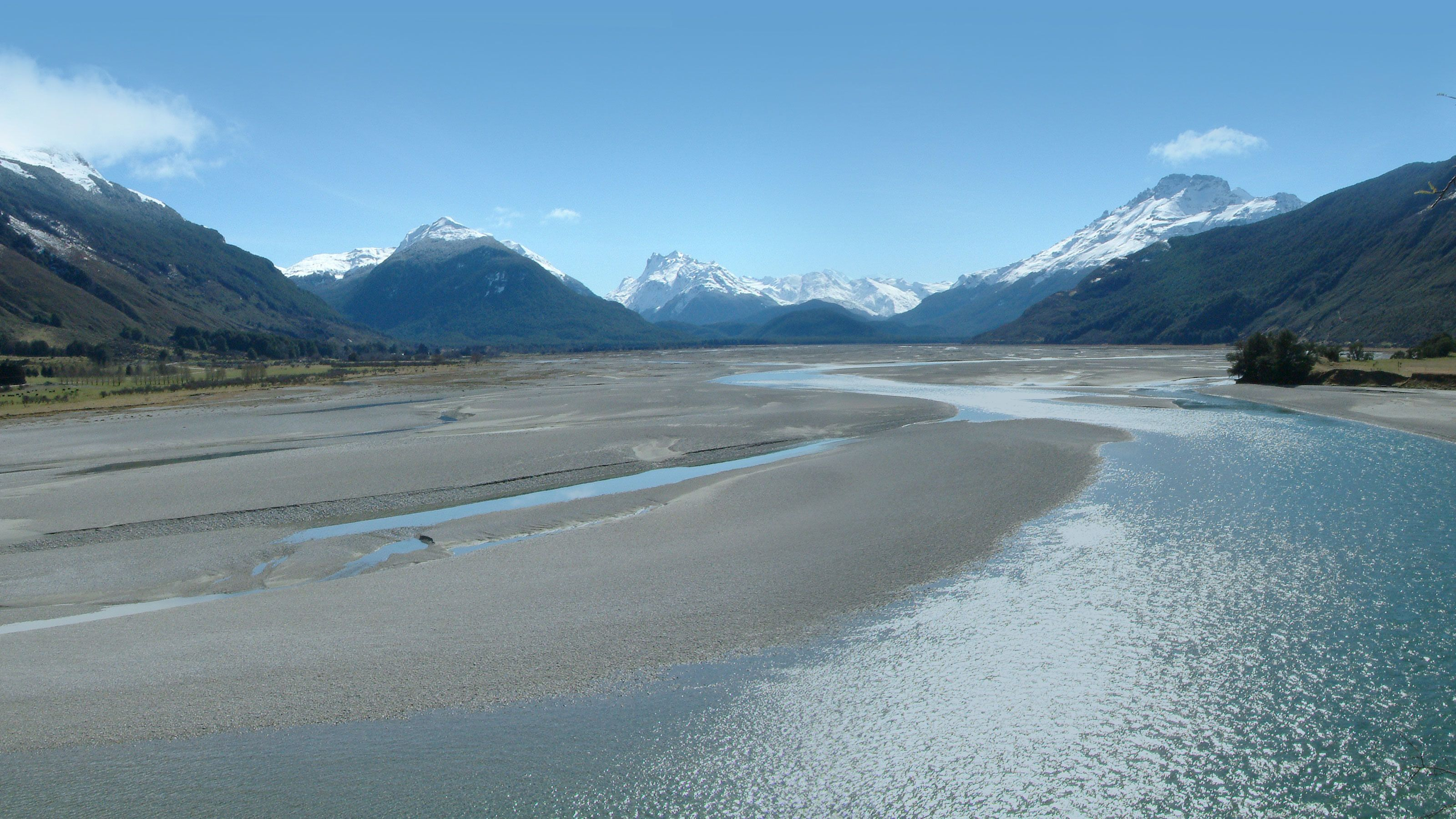 visiting the gravely beach in New Zealand