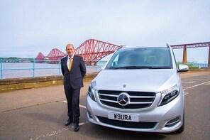 St Andrews to Edinburgh Luxury Taxi Transfer