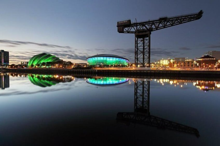Dundee to Glasgow Luxury Transfer with Scottish Driver