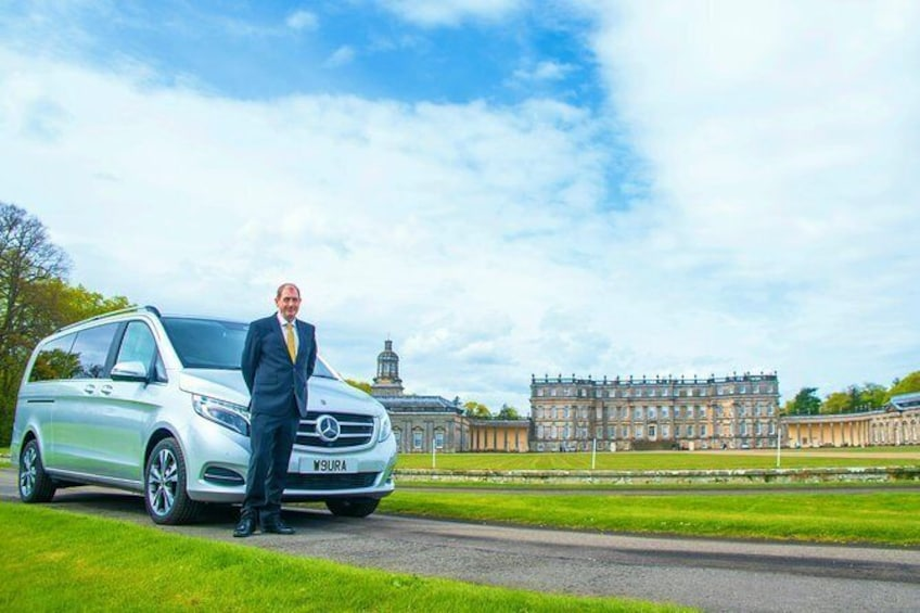 St Andrews to Glasgow Luxury Transfer with Scottish Driver