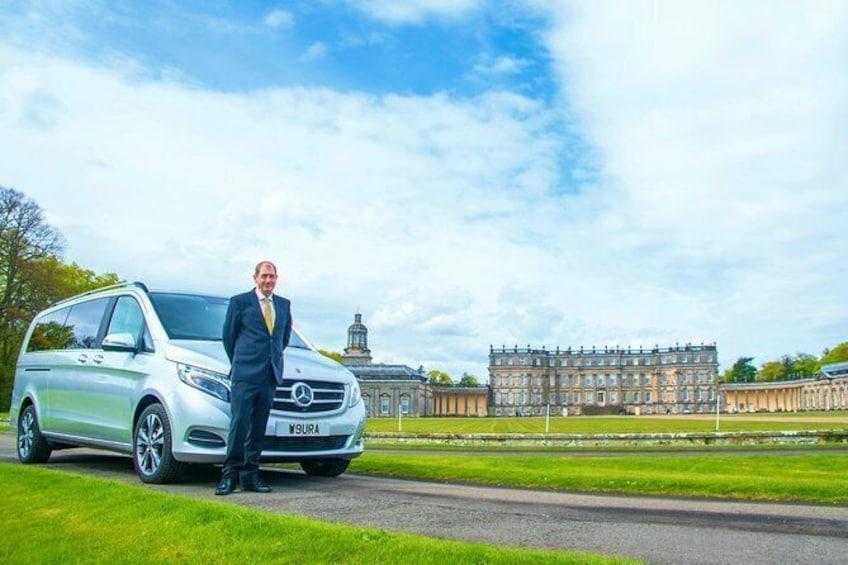 Trump Turnberry Resort to Edinburgh Luxury Transfer with Scottish Driver