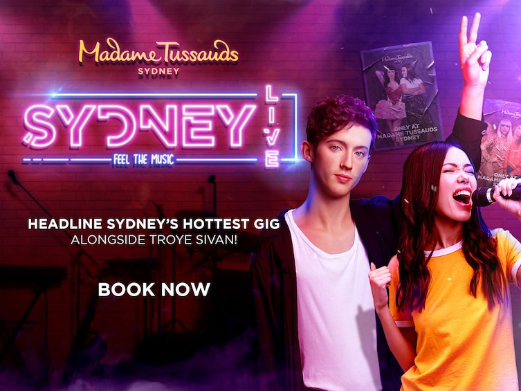 Show item 1 of 7. Madame Tussauds Sydney - Fast-Track Admission