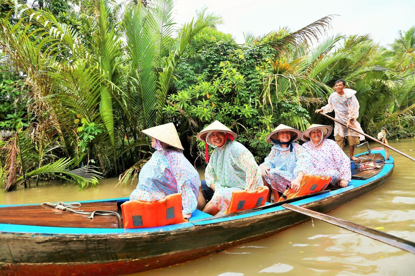 From Ho Chi Minh: CitySmall-Group Mekong Discovery Tour