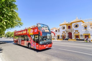 Hop-on, hop-off-bustour door Sevilla