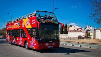 Circuit en bus à arrêts multiples à Séville
