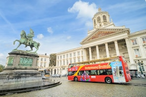 Hop-on, hop-off-bustour door Brussel
