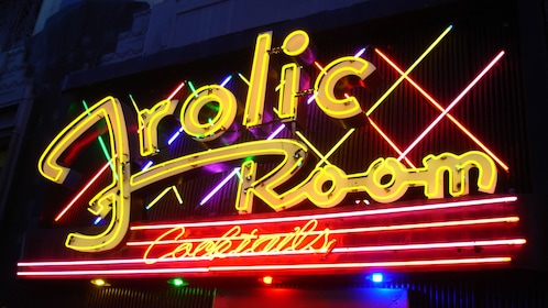 Frolic Room cocktail bar in Los Angeles.
