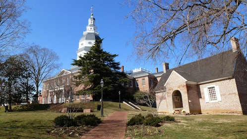 Historical buildings in Annapolis