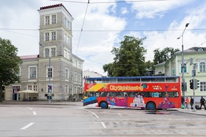Hop-on, hop-off-bustour door Tallinn