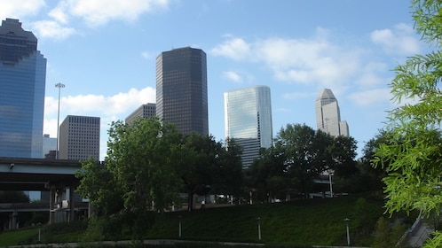 View of the skyscrapers in Houston
