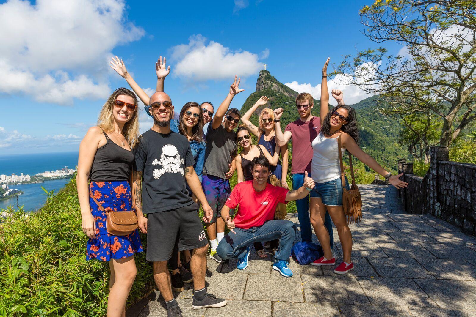 Rio: Corcovado, Cristo Redentor e praia de Copacabana