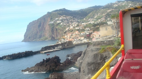 Funchal, the capital of Madeira, rests on the coast of west of Morocco
