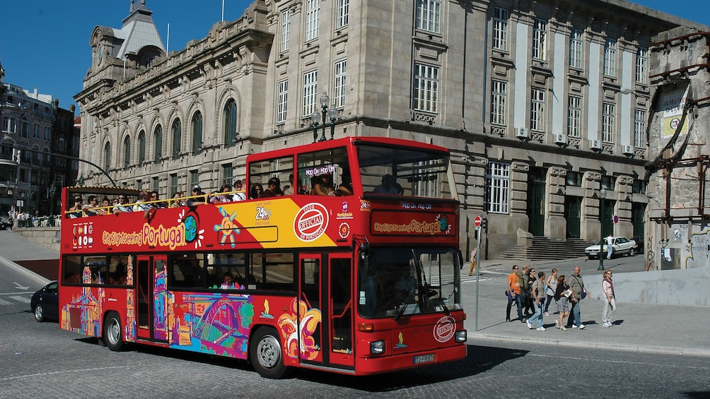 Show item 1 of 10. Hop on Hop off bus tour through Funchal