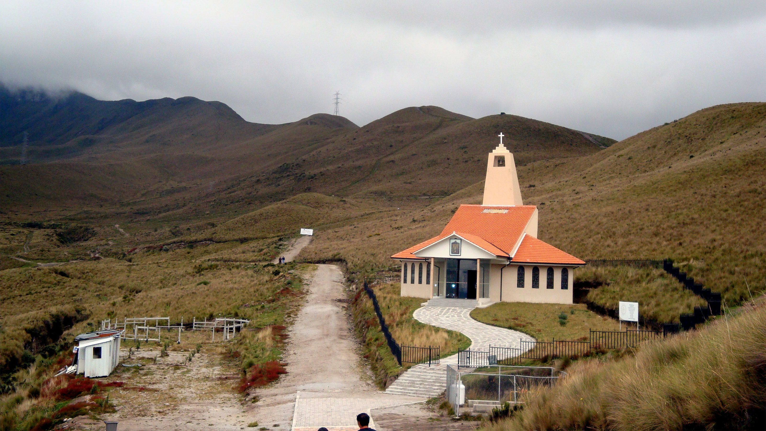 small church development in the hills of Ecuador