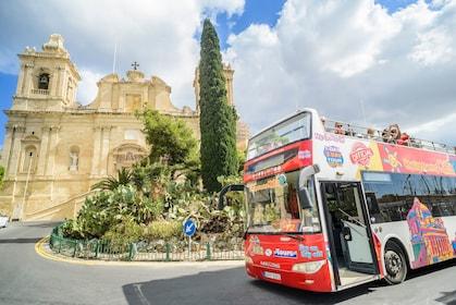Malta Hop-On Hop-Off Bus Tour
