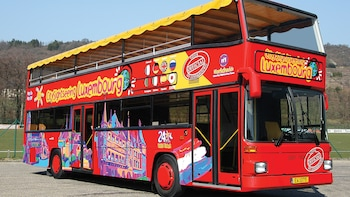Luxembourg Hop-On Hop-Off Bus Tour