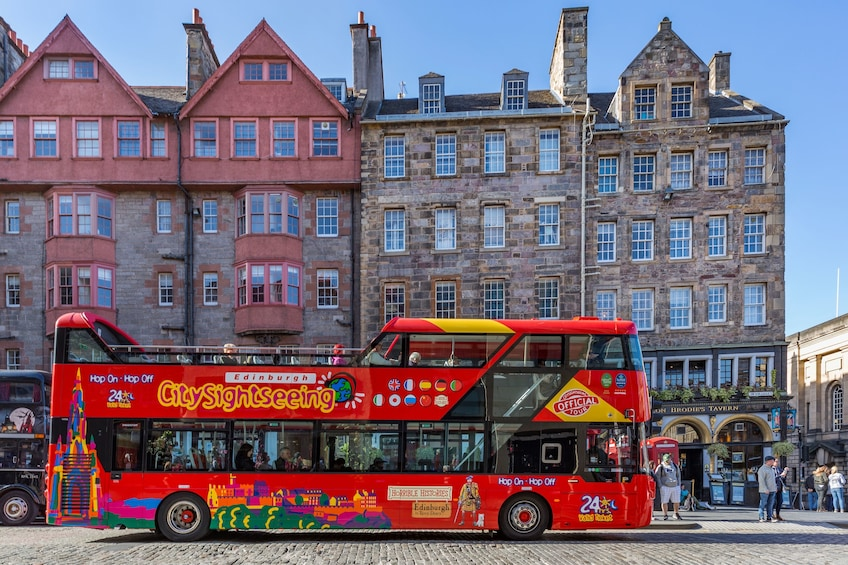 Show item 10 of 10. Edinburgh Hop-On Hop-Off Sightseeing Bus Tour