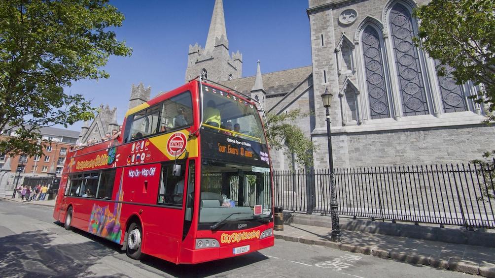 Show item 3 of 10. tour bus in Edinburgh