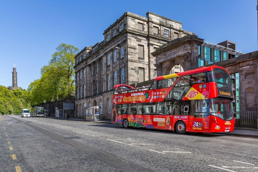 Show item 1 of 10. Edinburgh Hop-On Hop-Off Sightseeing Bus Tour