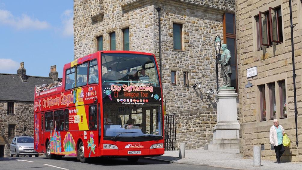 Show item 10 of 10. tour bus in scotland