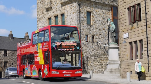 tour bus in scotland