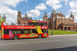 Hop-on, hop-off-bustour door Glasgow