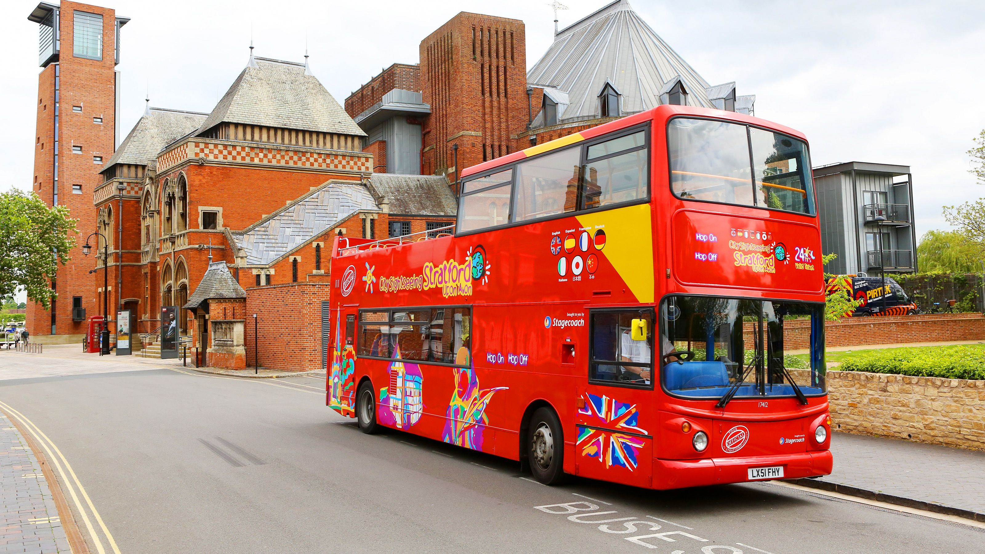 City Sightseeing Stratford-upon-Avon Hop-On Hop-Off Bus Tour