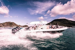 Private Full Day Boat Charter to Nature Reserve of St Martin