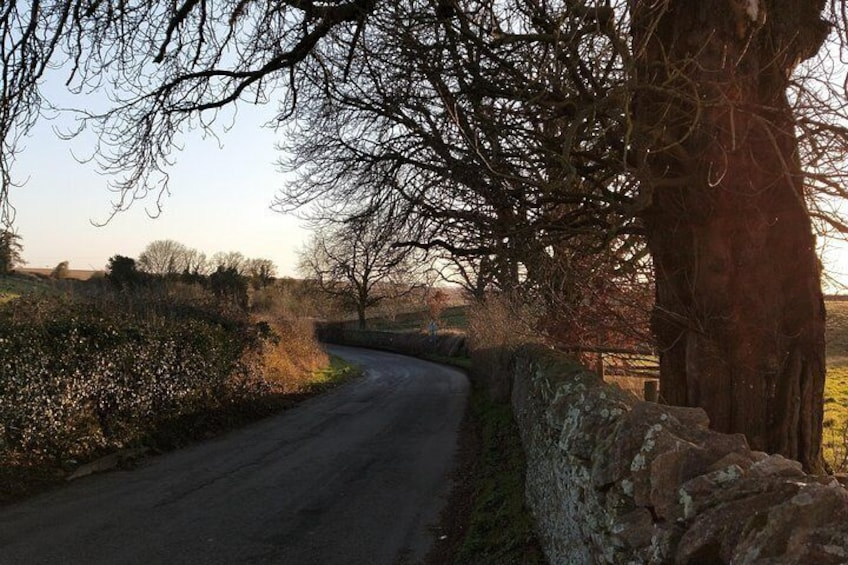 Scenic Cotswolds lanes