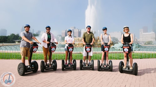 sic people on segways in chicago