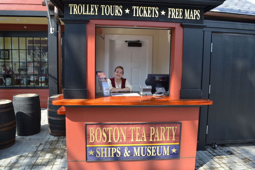 Show item 2 of 7. Boston Tea Party Ships & Museum Tickets