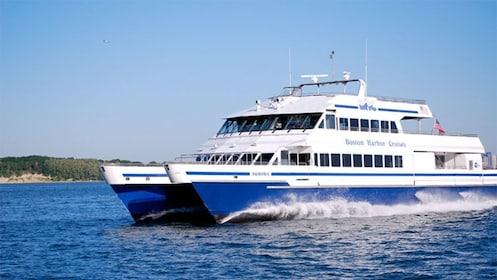 Boston Harbor cruise ship