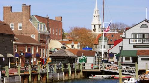 Seaside town of Newport in Rhode Island