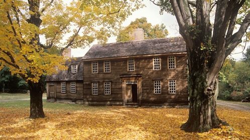 Hartwell Tavern in the Minute Man National Historical Park in Boston