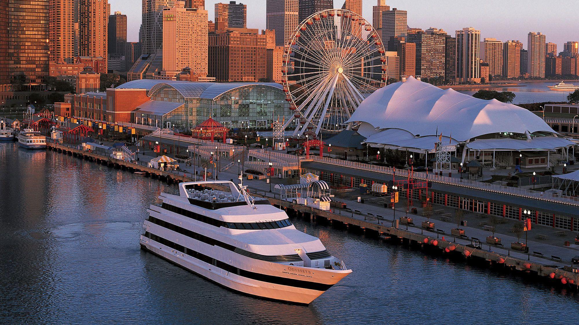 Odyssey Lake Michigan Dinner Cruise