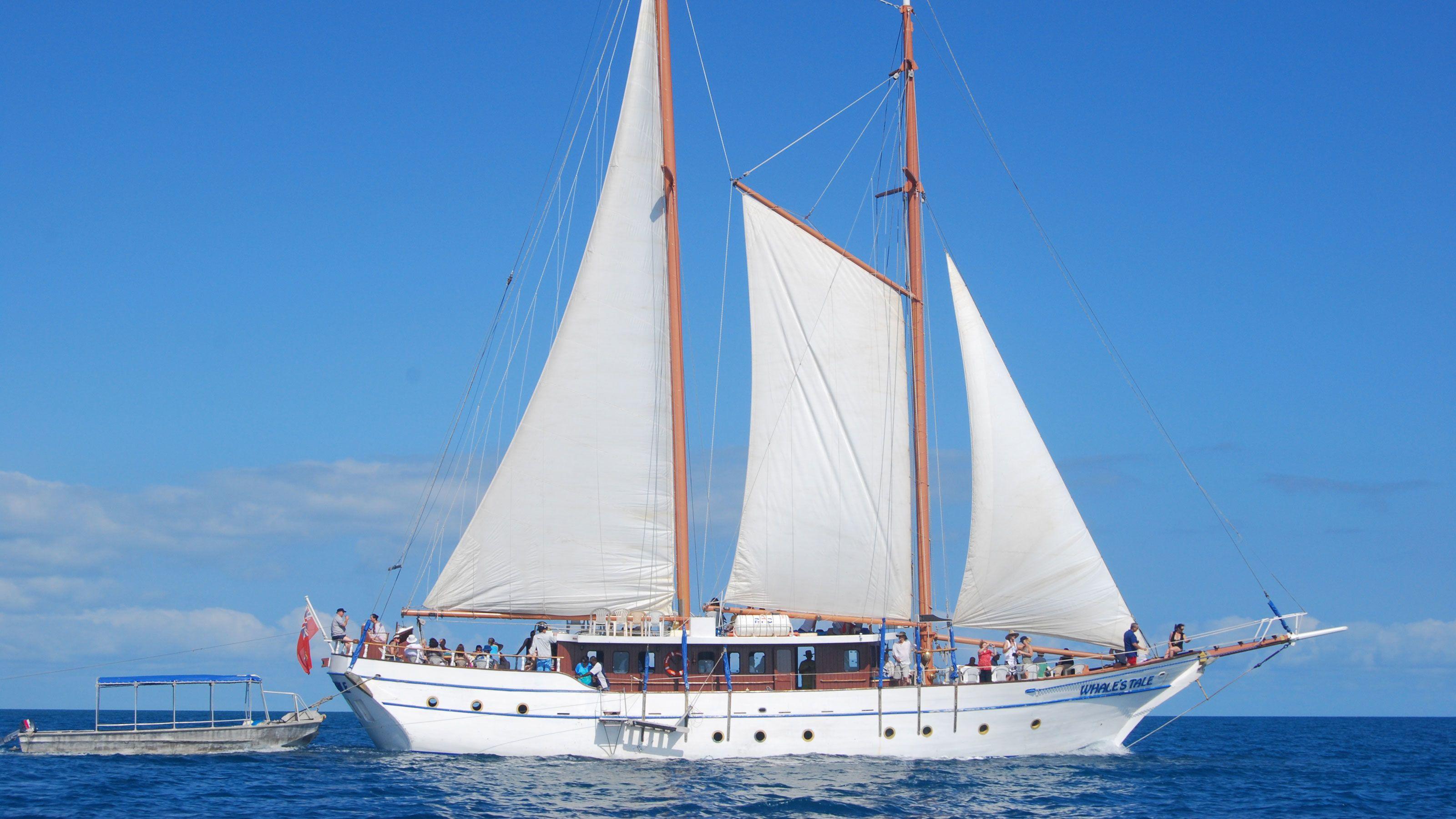 aboard a sail boat in Fiji