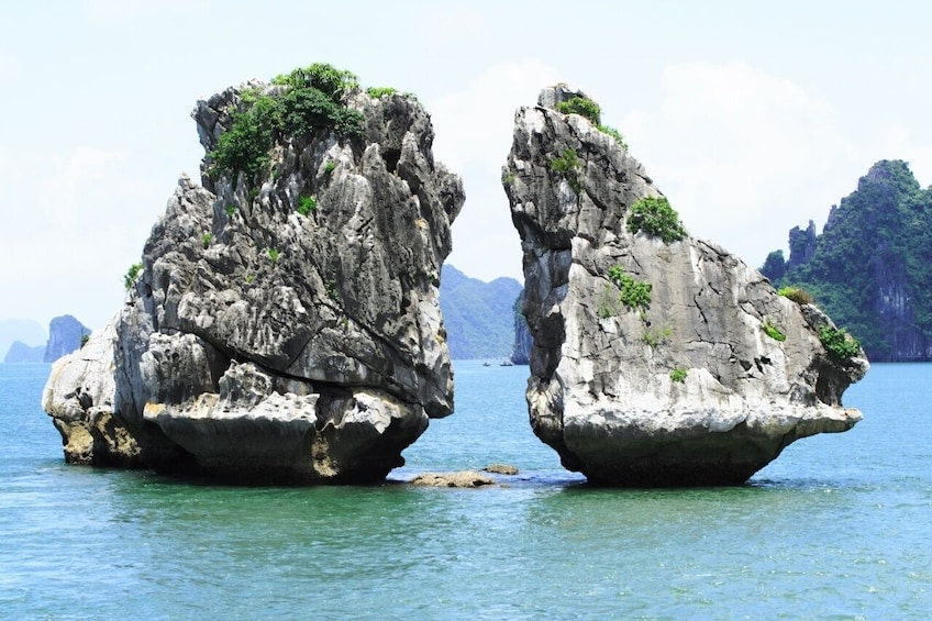 Show item 3 of 9. Halong Bay Boat Cruise with Lunch