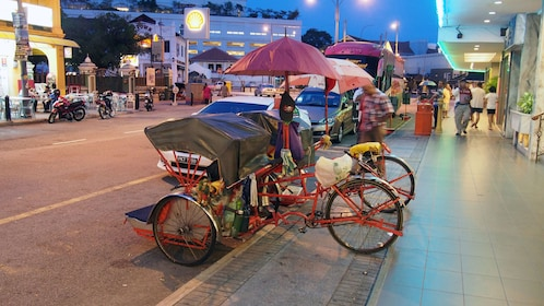 rickshaws in georgetown